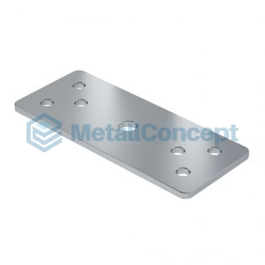 Пластина для крепления барьеров в ал. профиле Bench ПЛ.002