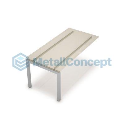 Каркас системы БЭНЧ для линейных столов, конечный