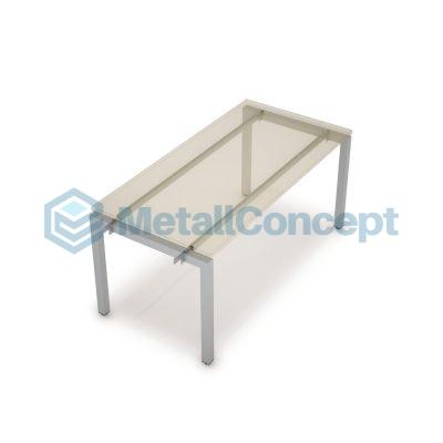 Каркас системы БЭНЧ для линейных столов, начальный