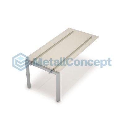 Каркас системы БЭНЧ для линейных столов, средний