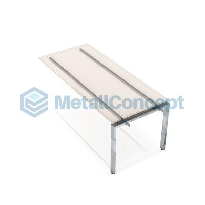 Каркас системы Бенч для линейных столов, средний